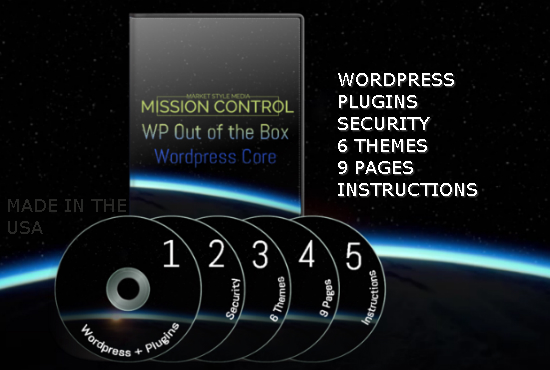 WP Out of the Box WordPress Core